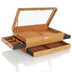 Hsn Jewelry Boxes Amazing Colleen's Prestige™ Dangle Earrings Jewelry Box At Hsn Inspiration