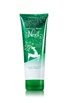 Vanilla Bean Noel Triple Moisture Body Cream - Signature Collection - Bath & Body Works