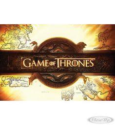 Game of Thrones Logo Poster Hier bei www.closeup.de