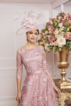 991464 Veni Infantino Mother of the Bride 991464 - Ronald Joyce International Mother Of Groom Outfits, Mother Of The Bride Fashion, Wedding Outfits For Women, Old Rose Gown, Bride Dresses, Designer Wedding Dresses, Formal Dress Patterns, Formal Dresses, Ronald Joyce