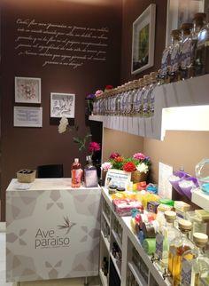Aquí tenéis una parte de la tienda donde os muestra la selección de jabones