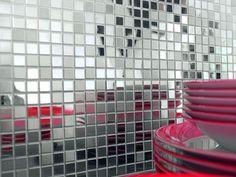 mirror kitchen tiles