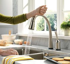 Delta Faucets Pilar Is An Easy To Operate Touch Faucet That Does Away With The Often Hard Turn S Making This Ideal For Everyone