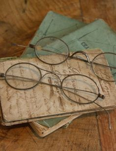 5e3f6da26022 Have the old glasses - just need to find the old books - sure I have some  somewhere.
