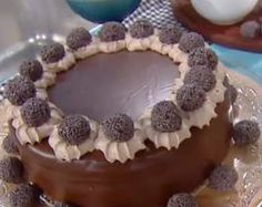 torta choco y dulce de leche