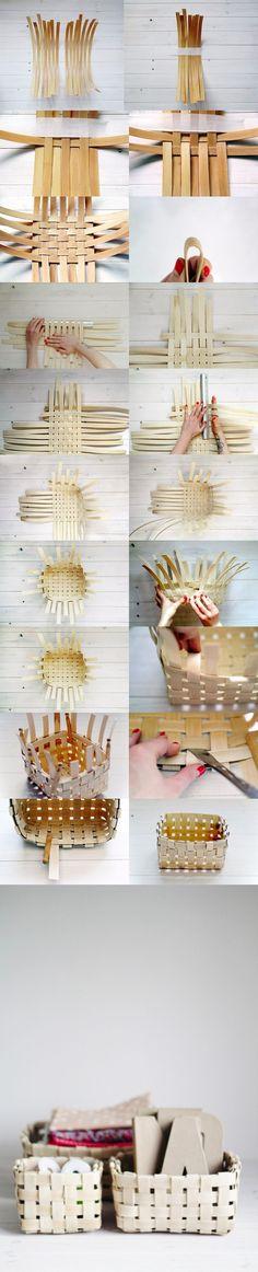 designsponge.com - Basket Weaving - Canasta de caña DIY