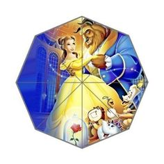 Disney Discovery- Beauty And The Beast Umbrella