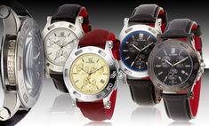 GF Ferré Men's Swiss-Made Chronograph watches.