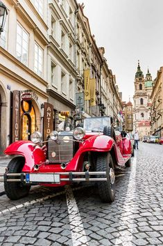 Vintage car, Prague, Czech Republic Travel Around Europe, Czech Republic, Vintage Cars, Street View, Explore, Prague Czech, Shots, Traveling, Instagram