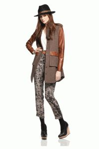 Funktional – Indiana Contrast Jacket In Sienna