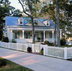 Coastal Home Plans - Banks Street Cottage