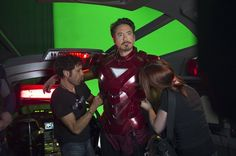 Behind the Scene: The Avengers.