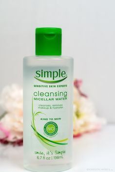 The Best Makeup Remover: Simple Micellar Water