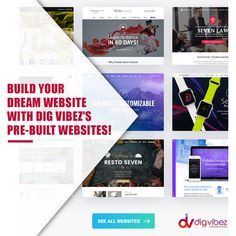 Create your dream website in just a few clicks with Dig Vibez's pre-built websites! For services,Contact now at digvibez@gmail.com! #websites #prebuiltwebsites #themes #websitedevelopment #digvibez  #webdesigner #websitedeveloper #prebuiltdummywebsites #webservices  #websitedevelopmentagency  #dummywebsites School Building, Design Development, Create Yourself, Dreaming Of You, Web Design, Website, Learning, Design Web, Studying