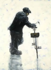 """""""Taking a Breather"""", by Alexander Millar Norman Cornish, Bubble Balloons, Bubbles, Cleveland Art, Photos, Pictures, Contemporary Artists, Lovers Art, Take That"""