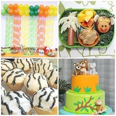 Jungle Baby Showers Party Ideas