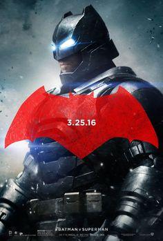Batman (Ben Affleck), Superman (Henry Cavill) y Wonder Woman (Gal Gadot) tienen nuevos carteles individuales con sus propios logos para su película dirigida por Zack Snyder.