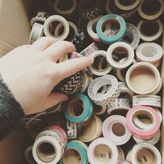 Getting orders ready to be shipped. So much washi I need a better storage system . Specially since I ordered even more washi this morning! #washi #washiaddict #sales #etsy #plannergirl #gettingorganized #washitape #diy #craft #organized #planner #scrapbooking