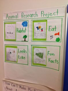 Joyful Learning In KC: Nonfiction Writing, animal research projects First Grade Science, Kindergarten Science, Elementary Science, Teaching Science, Primary Teaching, Elementary Teaching, Informative Writing Kindergarten, Preschool Jungle, Kindergarten Projects