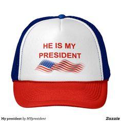 My president trucker hat