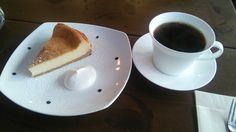 リトルフォートコーヒー ブラジル、チーズケーキ 140323