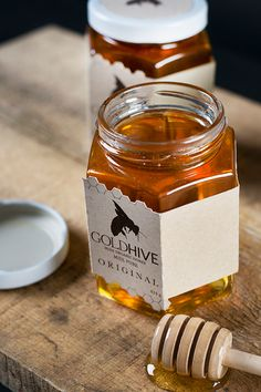 Gold Hive Honey Packaging on Behance
