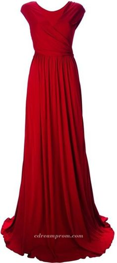 red prom gowns prom dress