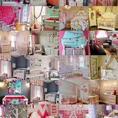 32 Baby Girl Nursery Designs Popular on Pinterest