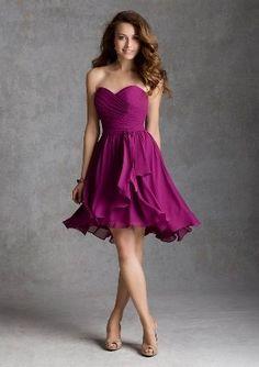 Radiant Orchid Bridesmaid Dress