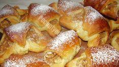 Tento recept je poklad: Jablkovo-škoricové croissanty bez kysnutia s veľmi jemnou chuťou! - Recepty od babky Pretzel Bites, Croissant, French Toast, Bread, Breakfast, Food, Recipes, Anna, Basket
