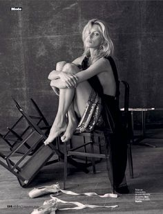Anja Rubik In 'The Last Dance' By Matthew Brookes For L'Express Styles September 3,2014 - 3 Sensual Fashion Editorials | Art Exhibits - Anne of Carversville Women's News