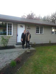 Happy Homeowners in Arlington, WA!! Sold by the Diemert Properties Group! 425-308-6641