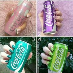 or 4 ? Coca Cola, Jugo Natural, Slurpee, Nail Polish Sets, Fashion Tag, Diy Fashion, Winter Fashion, Thirsty Thursday, Wine Tasting