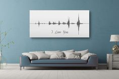 Sound Wave Canvas - A Personalized Design Using Your Voice On Canvas – Canvas Vows