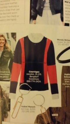 Courreges sweater at Bergdorf Goodman