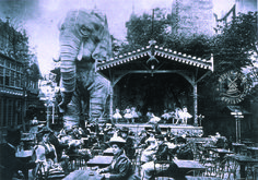 Moulin Rouge Jardin de Reine Blanche