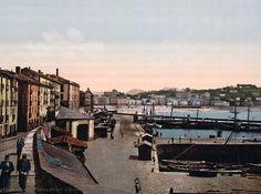 San Sebastián harbour (http://www.old-picture.com)