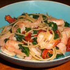 Shrimp, Broccoli, and Sun-Dried Tomatoes Scampi with Angel Hair Recipe Shrimp Recipes, Copycat Recipes, Pasta Recipes, Dinner Recipes, Cooking Recipes, Yummy Recipes, Dinner Ideas, Shrimp And Broccoli, Shrimp Pasta