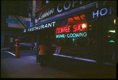 New York, 1978-1980. Michael Sean Edwards. Leshko's Coffee Shop, Ave A, 1979.