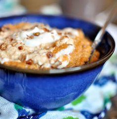 Pumpkin Bread in a Bowl ~ The best breakfast ever! Pumpkin Breakfast, Breakfast Time, Breakfast Recipes, Breakfast Ideas, Breakfast Cereal, Breakfast Healthy, Health Breakfast, Breakfast Dishes, Pumpkin Recipes