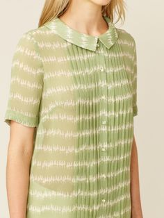 Garden Party Pleated Blouse by Orla Kiely