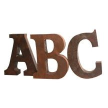 cast iron letters numbers