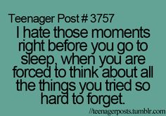 this is my life way too often. nothing worse than dying to go to sleep and your stupid brain won't shut up