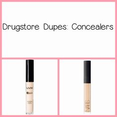 for any make up loving individual drugstore dupes are a must! in this drugstore dupe I'm comparing the NYX HD concealer and the NARS concealer. many people say this is as close as your going to get to an luxury product at a budget price. Dupes, Nyx, Concealer, Eyeliner, Budgeting, Make Up, Luxury, People, Beauty