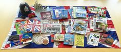 """Today's culture kit of the day is United Kingdom! Some items include London Underground Tube maps, a double-decker bus toy, Celtic music, currency, and """"Families of United Kingdom"""" DVD! http://navigators.unc.edu/global-resource/united-kingdom-wales/?utm_content=buffere0098&utm_medium=social&utm_source=pinterest.com&utm_campaign=buffer"""