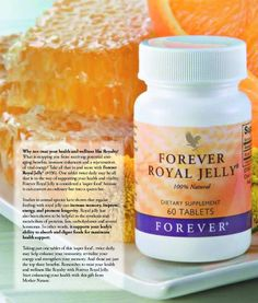 Royal Jelly - good enough for a queen!