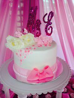 pink blush wedding cake shabby chic wedding cake