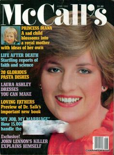 Diana on cover of McCalls (June 1982)