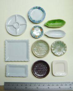 miniature basic tableware