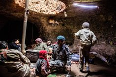 Syria - The caves of bygone times have become essential once Habitat For Humanity, Camping Life, Caves, Ny Times, Habitats, Building A House, Roman, Syria, Country